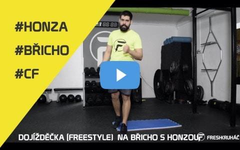 CF01 – Dojížděčka (Freestyle) na břicho s Honzou