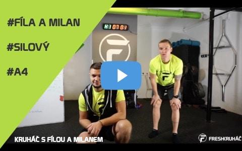 A406 – Kruháč s Fílou a Milanem